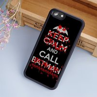 Coque Black Keep Calm Call Custodie per cellulare di Batman Joker per iPhone 6 6S Plus 7 7 Plus 5 5S 5C SE 4S Back Cover