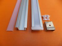 Wholesale Wholesale Lighting Parts - Free Shipping Custom Aluminium Profile for Led Decorative Strip Light  Led Strip Light Parts Led Channel Light Accessories