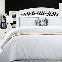 Wholesale Solid White Satin Bedding Set - High-end hotel bedding four-pieces white cotton satin jacquard 1.5 meters 2.0 meters hotel four sets of four seasons can be used