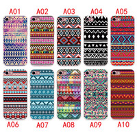 kabile samsung davaları toptan satış-2017 Aztek Tribal Kabile Vaka iphone X 8 7 6 6 S artı Silikon Kapak Kılıf Lüks Ultra İnce Yumuşak TPU iphone 5 4 se Cep Telefonu çantası