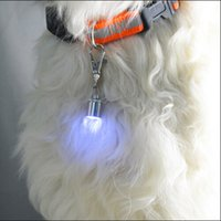200pcs / lot Pet Dog Cat Flasher Clignotant LED Light Tag Collar Pet Dog Flash LED Light Lamp Sécurité Clignotant Clignotant Collier