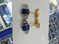 Wholesale Gold Plated Signs - Free Shipping-Europe's most popular High-end French mb cufflinks, the sign of successful man