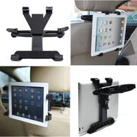 For ipad 2/3/4 ipad mini 1/2/3/4 black tv tablets - Universal Car Back Seat Headrest Mount Holder For iPad Air ipad mini GPS TV Tablet SAMSUNG Tablet PC Stands