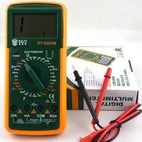 elektrischer verstärker großhandel-DT9205M 3 1/2 AC / DC LCD Elektrischer Multimeter-Ampere-Ohm-Tester