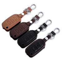 Wholesale Key Volkswagen Passat - Leather Car Key Cover Case For Volkswagen VW GOLF 4 5 6 Passat B5 B6 Tiguan Touran Polo Scirocco Jetta mk5 Car Accessories