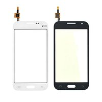 Wholesale Galaxy S3 Digitizer Repair - High Quality for Samsung Galaxy Core Prime G360 Touch Screen Panel Digitizer Glass Lens Repair Parts Black White Free Shipping
