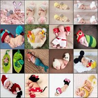 Cheap Unisex infant costume Best Spring / Autumn Crochet Hats children hat