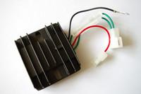 Wholesale voltage stabilizer regulator online - AVR wires for Yanmar L70 L100 diesel KW KW automatic voltage regulator fire pumper tiller charging adjuster stabilizer rectifier