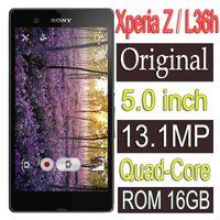 Wholesale camera sony wifi online - Original Sony Xperia Z L36h Mobile Phone GB Quad core G GSM WIFI GPS MP C6603 C6602 Refurbished