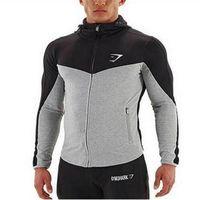 Wholesale Assassins Creed Belt - Wholesale- 2016 hot hoodies men Gymshark Hoodies men belt patchwork full sleeve assassins creed man hoodies sportwear mens sweatshirt