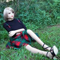 muñecas sexuales femeninas de japón al por mayor-158 cm Muñecas sexuales Japón Las muñecas sexuales Muñeca real Esqueleto de metal realistas femeninas llenas de pechos grandes vagina Goma mujer