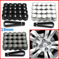 Wholesale Keys Caps Covers - 20pcs 19mm Wheel Nut Cover Bolt Cap Protector For Vauxhall Opel Romove Tool Key