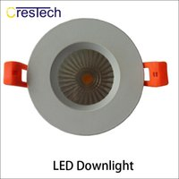 Wholesale Wholesale Lead Sinkers - 5 yrs warranty LED lamp chip Grid Downlihgt Aluminum housing and heat sinker For home office using indoor light
