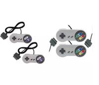 Wholesale Games For Super Nintendo - 10 Keys Game Gaming 16 Bit Controller Gamepad Pad Joystick for SFC Super Nintendo SNES System Console Control Pad fast shipment
