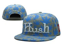 Wholesale Cap Hush - New Caps Hush Snapback Caps Pop Sports Mix Match Order All Caps in stock Top Quality Hat
