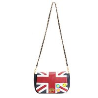 Wholesale British Flag Bags - Wholesale-2016 New Fashion Women's British Style Union Jack UK Flag Leather Handbag Shoulder Bag in Stock Vintage Messenger Bag