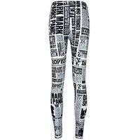 Wholesale Newspaper Leggings - Newspaper pants Stylish tight Fashion women gym clothing Leggings sport wear Fitness training sportwear Exercise trousers
