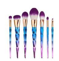 Wholesale Cheap Professional Makeup Brushes - New Cheap Brush kit Professional Vander 7pcs Cream Power Professional Makeup Brushes Multipurpose Beauty Cosmetic Puff Batch Kabuki Blusher