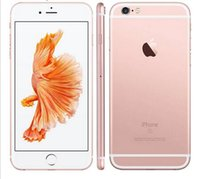 ingrosso telefoni cellulari iphone 6s-Apple iPhone 6S senza touch ID Cellulare IOS 9 Dual Core 2 GB RAM 16 GB 64 GB ROM 4.7''12MP Camera sbloccato Telefono cellulare rinnovato