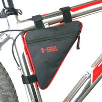 Wholesale 2017 New Promotion Cycling Bike Bycicle Frame Pack Pannier Front Tube Triangle Bag Pouch