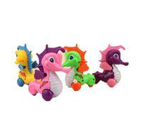 desenhos animados do hipocampo venda por atacado-5 pçs / lote 2017 Adorável Hipocampo Animal Dos Desenhos Animados Wind-up Clockwork Brinquedos Engraçados Para Crianças Dos Miúdos