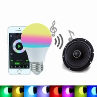 All'ingrosso luce intelligente Bluetooth LED Lampadina 4.5W RGBW 4.0 Smartphone Controlled E27 lampada principale dimmable Sleeping modalità Smart Home Illuminazione