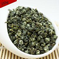 cuidado verde venda por atacado-250G flor Verde Alimentos China Primavera Jasmim Biluochun Chá Verde Premium perda de Peso Produtos de Cuidados de Saúde Piluochun Bi Luo Chun