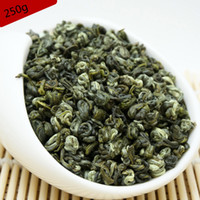 Wholesale loss weight tea - 250G flower Green Food China Spring Jasmine Biluochun Green Tea Premium Weight loss Health Care Products Piluochun Bi Luo Chun