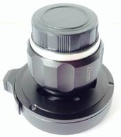 encanamento industrial venda por atacado-22 mm HD C / CS adaptador de câmera de endoscópio de montagem, acoplador óptico de endoscópio, lente CCD HD, escopo de aplicação de ouvido, garganta, nariz, Freeshipping por FedEx