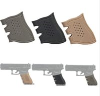 Wholesale Holster Tactical Glock - hollow type soft Rubber Grip Glove case holster Tactical Anti Slip Glock for Pistol