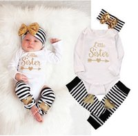 Wholesale Size Kids Legging - BABY Christmas suit Newborn Baby Girls Long Sleeve Romper+love Leg Warmer+BOW Headband Xmas 3pcs sets Outfits Set toddler kids Clothes T0389