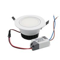 Wholesale Adjustable Ceiling Lamp - Super Bright Recessed LED Adjustable Downlight COB 9W LED Spot Light LED Decoration Ceiling Lamp AC85-265V