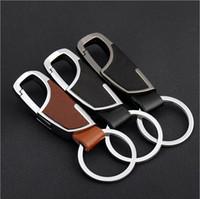 Wholesale Wholesale Metal Trinket - High-end Keychain New Arrival Metal Key Chain Gifts Keychain Trinket Car Key Ring Car Key Ring