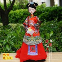 palace furnishes - 1 pieces of clothes Tang Yun Bobbi doll Chinese the Imperial Palace Princess Doll gift gift red girls Home Furnishing ornaments