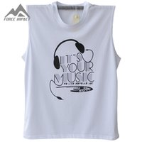Wholesale Sexy Tall Man - Wholesale- Classic Fashion Cotton Men's Tank Tops Big & Tall Plus Size Men's Tees New Sleeveless Fitnees Men's Tank Top PF13 On Sale