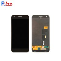 Wholesale xl digitizer - OEM AAA+++ for HTC Google Pixel XL LCD Display Digitizer with Touch Screen Full Assembly Replace 100% Tested