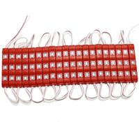 chaîne led super lumineuse 12v achat en gros de-Lentille carrée lumineuse superbe de modules 3Leds 5630SMD injection DC12V en plastique de PVC imperméable menée annonçant la ficelle 500pcs de contre-jour léger