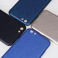 Wholesale fingerprint for pc - Business Ultra Thin Smoothly PC Anti Scratch Prevent Fingerprint Shockproof Phone Case For iPhoneX 8 7 6 6S Plus OPP BAG
