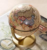 Wholesale Plastic Terrestrial Globe World Globe Fashion Home Decoration Gift For Kids