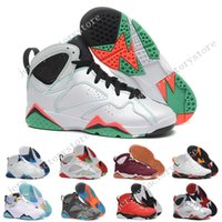 Cheap New Retro 7 VII Tinker Olímpico Retros alternativos 7s mens Sapatos de basquete Sapatos de couro High Boots Sports sneakers men free shipping