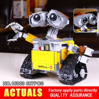 Wholesale Robot Building Kits - 2017 New Lepin 16003 Idea Robot WALLE Building Set Kits Bricks BlocksBringuedos 21303