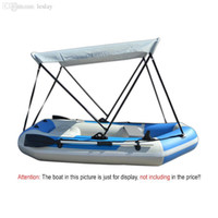 Wholesale Inflatable Canopy - Wholesale-Inflatable Boat Tent Sun Shelter Aluminum Rubber PVC Fishing Boat Sunshade Canopy Awning Tent