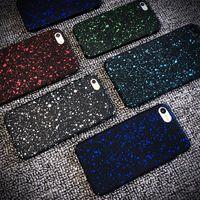 Wholesale Iphone 5c Plastic Matte - Starry Sky Raindrop Matte Hard Plastic Cover Case Funda for iPhone 5 5S SE 5C 6 6S 7 7 Plus Stars Capa Funda Coque Ultra Thin