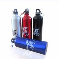 Wholesale Blue Hot Water Bottle - Hot Sale Water Bottle Bike Bicycle Portable Cycling Sport Bottles 750ml Bottles For Bicycle Drink Drinkware Cage