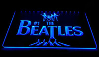 Wholesale Beatles Drum - LS1592-B-The-Beatles-Band-Music-Drums-Neon-Light-Signs Decor Free Shipping Dropshipping Wholesale 6 colors to choose