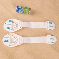 Wholesale Function Door Locks - Free shipping 1000pcs new baby care multi-function child safety lock cabinet refrigerator Drawer Door toilet