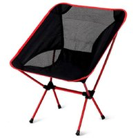 Wholesale Bear Stool - Super-light Breathable Backrest Folding Chair Portable Beach Sunbath Picnic Barbecue Camping Fishing Stool Load Bearing 150 kg Free Shipping