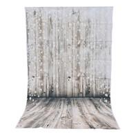 tela de fondo para la fotografía al por mayor-3x5ft Fondo de fotografía de vinilo Fondo de pared de madera de ensueño fotográfico telón de fondo para estudio foto prop tela 90x150 cm