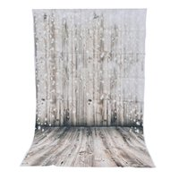 Wholesale photography wall backdrops online - 3x5ft Vinyl Photography Background Dreamy Wooden Wall Floor Photographic Backdrop For Studio Photo Prop cloth x150cm