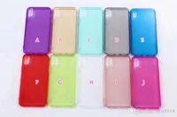 iphone altın cilt yükseldi toptan satış-Parlak Kristal Yumuşak TPU Kılıf Iphone X 8 8G 8 Artı Temizle Kapak Renkli Gül Altın Kauçuk Cep Telefonu Moda Cilt Kılıfları